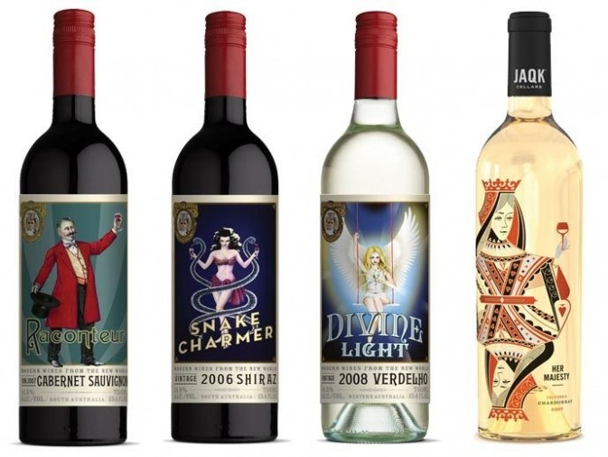 Quédicen las etiquetas de los vinos