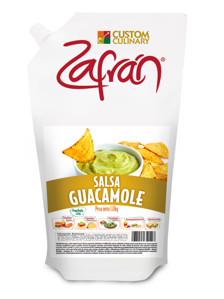 Salsa Guacamole Doypack  200gr