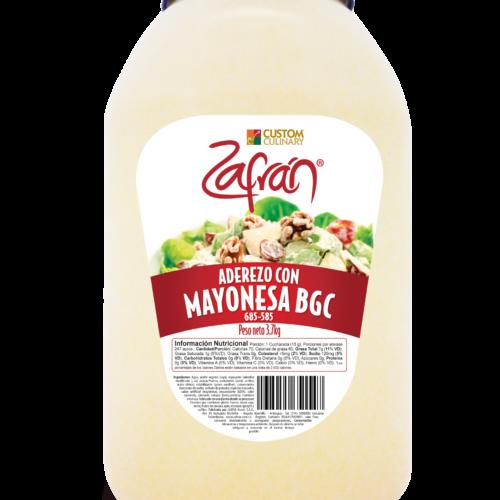 garrafa de Aderezo mayonesa