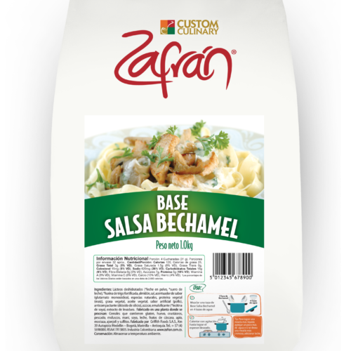 Base salsa bechamel