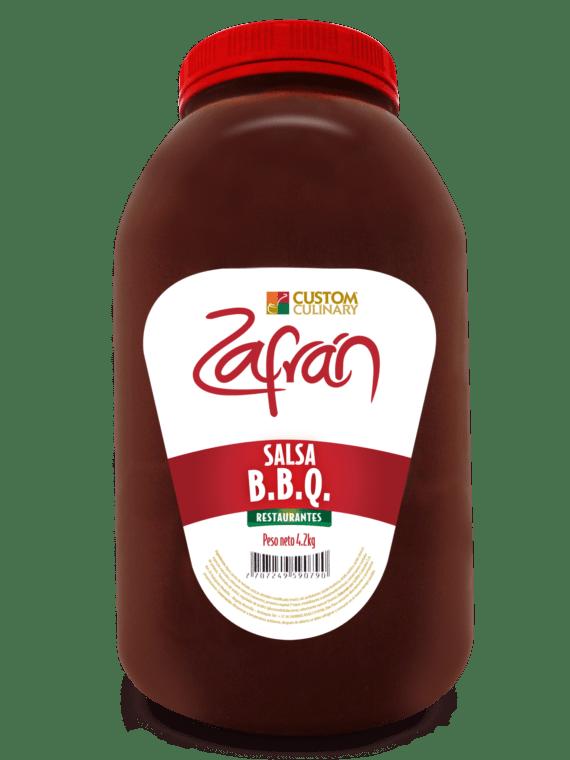 Salsa bbq para restaurante garrafa