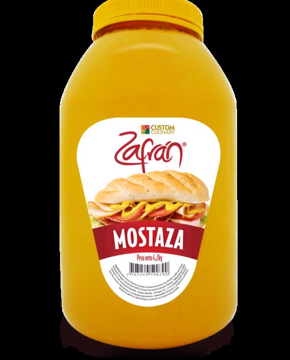 Garrafa de salsa mostaza