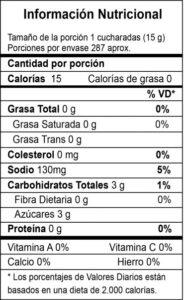 Salsa con tomate presentacion master bag Tabla