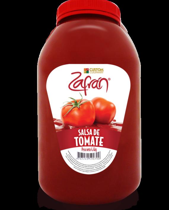 Garrafa de salsa de tomate