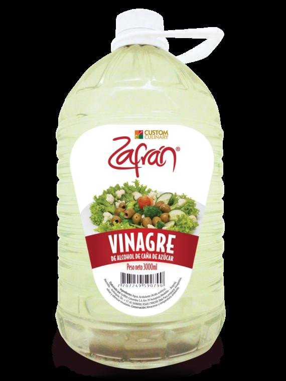 Garrafa de vinagre blanco