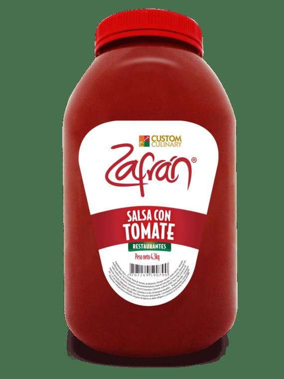 Salsa con tomate garrafa