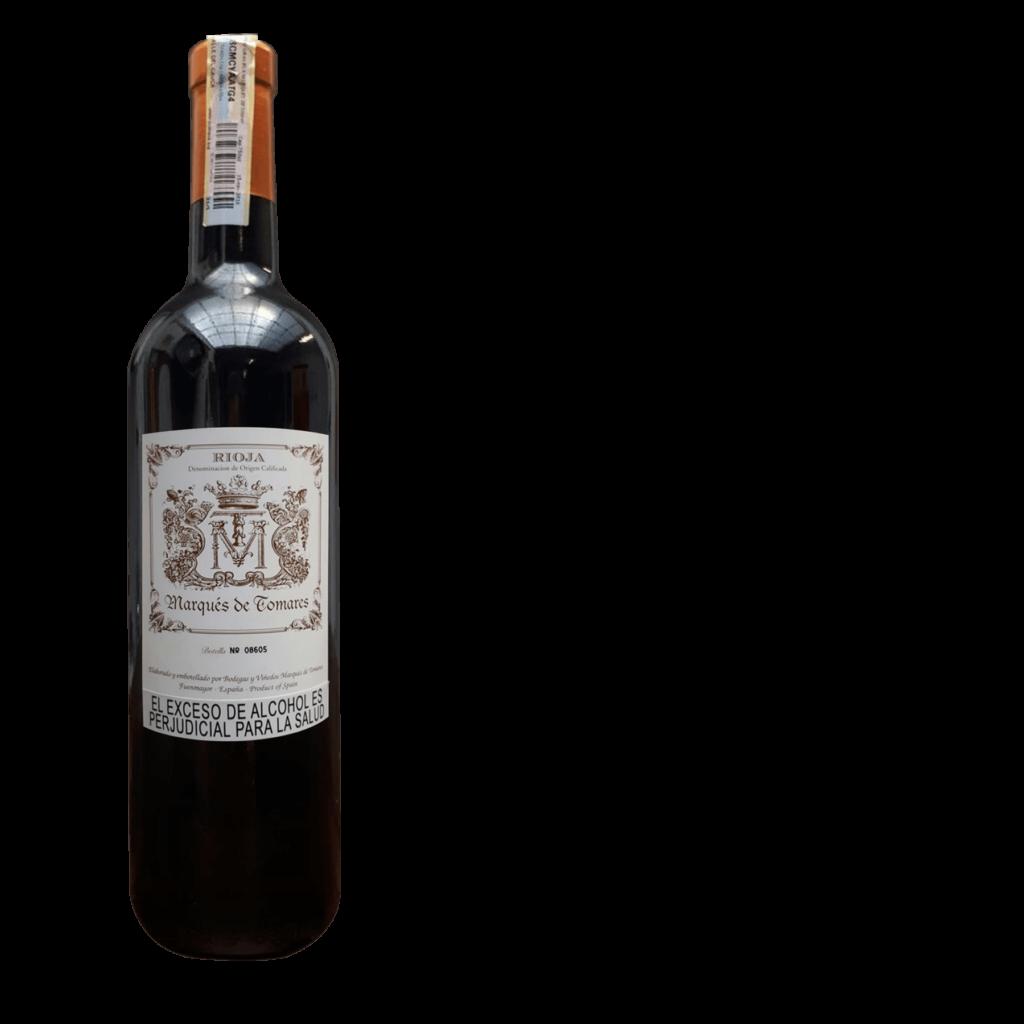 Vino Tinto-Marqués de Tomares Rioja Gran Reserva