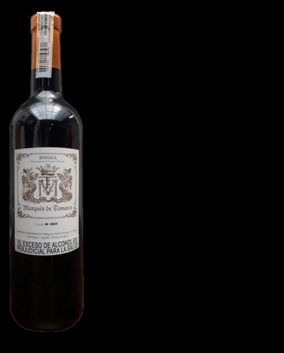 vino tinto Marqués de Tomares rioja Gran Reserva 1996