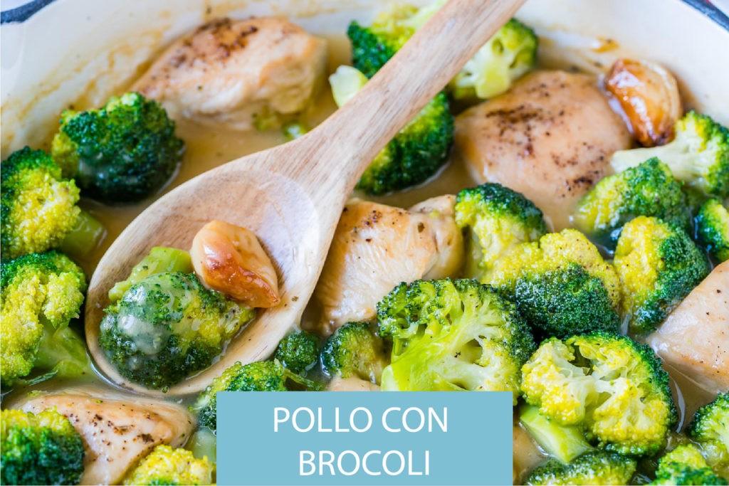 Receta de pollo con brocoli