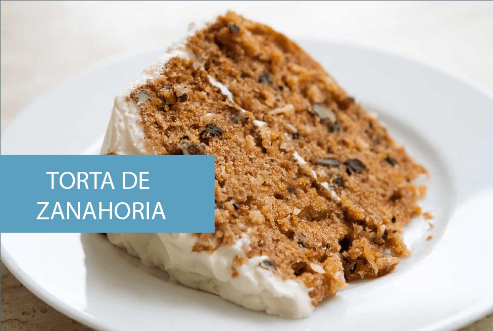 Fácil receta de torta de zanahoria, deliciosa y muy saludable
