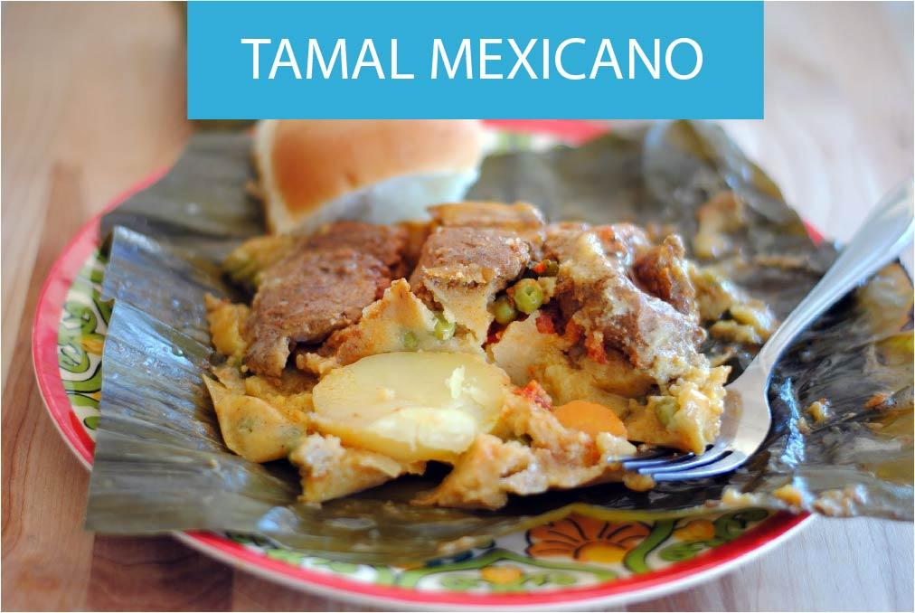 Receta Tamales Mexicanos