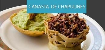 Receta Canasta de Chapulines