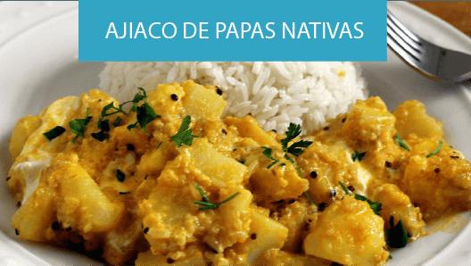 recetas ajiaco de papas nativas plato tipico de la gastronomía peruana