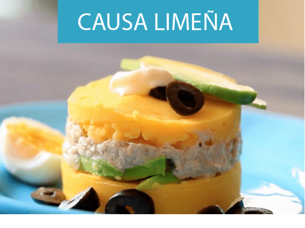 receta de causa limeña plato tipico de la gastronomía peruana