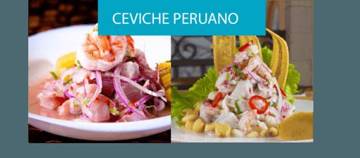 receta de ceviche peruano plato tipico de la gastronomía peruana