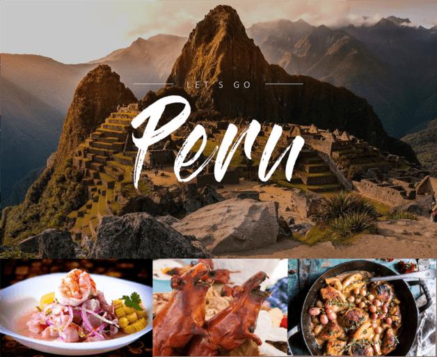 Gastronomía peruana una fusion de culturas