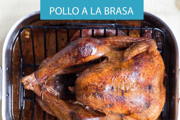 receta pollo a la brasa plato tipico de la gastronomía peruana