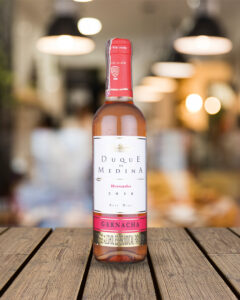 vino rosado Duque de Medina 375 ml