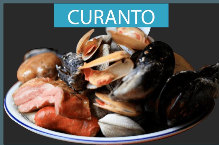 Receta de curanto característica de la gastronomía chilena