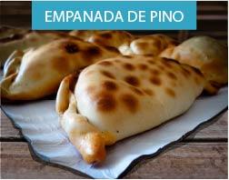 Receta de empanada de pino característica de la gastronomía chilena