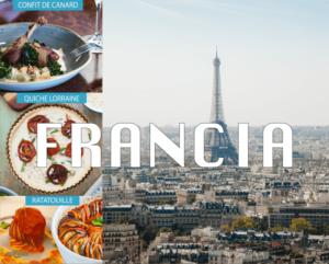 Gastronomía francesa, exquisita y elegante