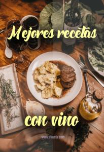 Recetas fáciles con vino
